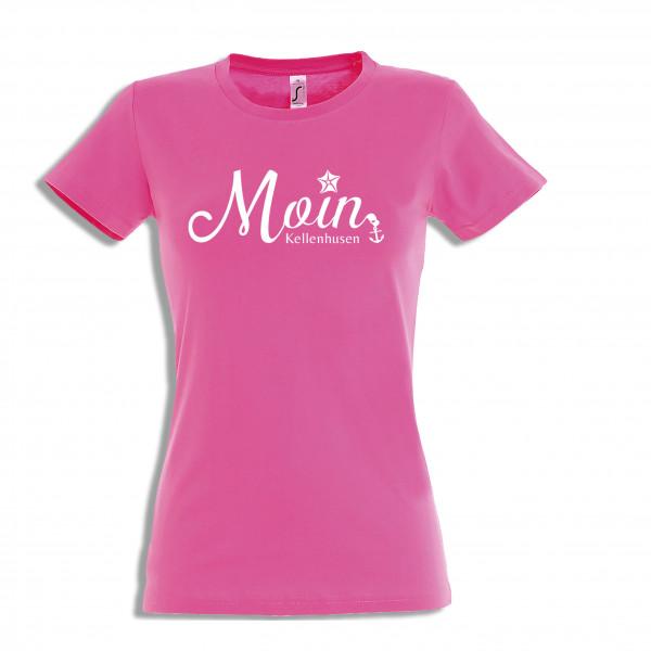 """T-Shirt """"Moin Kellenhusen""""- rosa"""