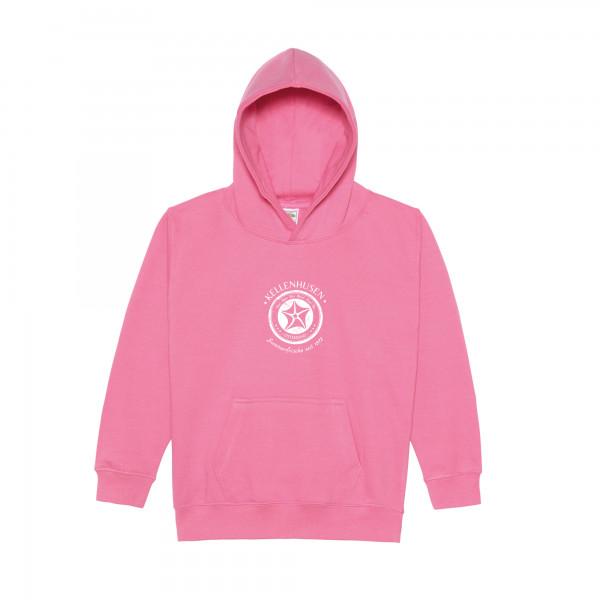 Kinder-Hoodie - pink