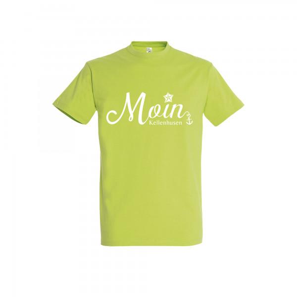 """T-Shirt """"Moin Kellenhusen"""" - grün"""