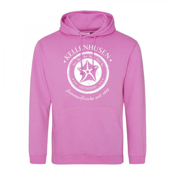 """Hoodie unisex """"Stempel""""- pink"""